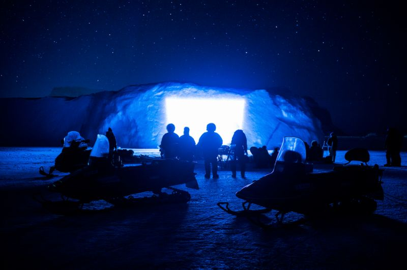 Icy Cinema Photography