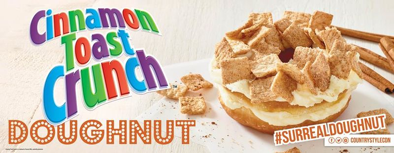 Cereal-Coated Donuts