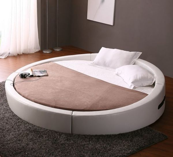 Circular Disk-Shaped Beds