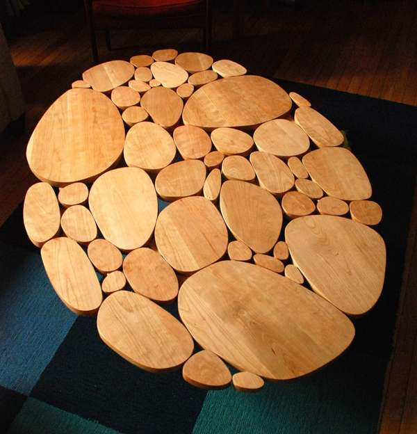 Circle Coffee Tables by Michael Arras
