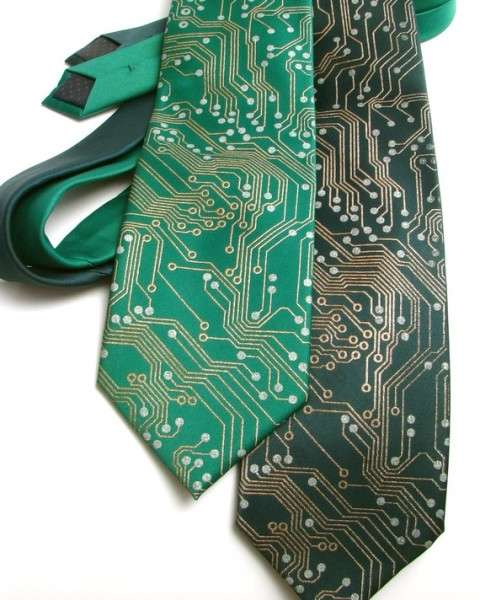 Circuit Board Neckties