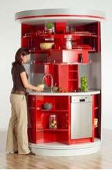 Circular Kitchen by Alfred Averbeck