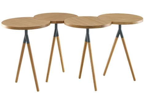 Clustered Circle Tables
