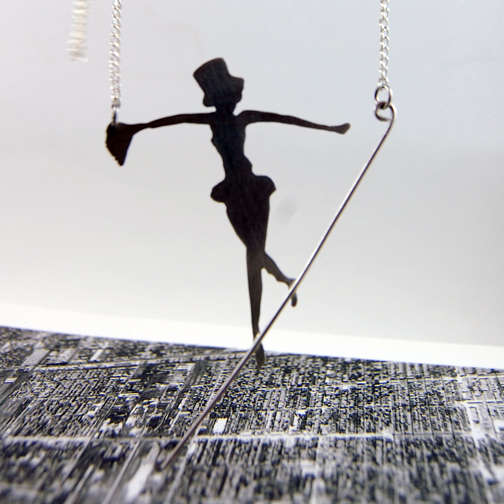 Dangling Trapeze Pendants