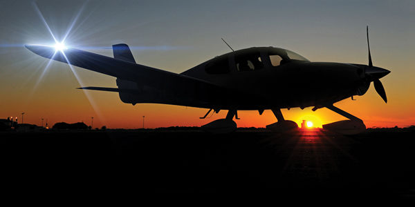 LED-Enhanced Personal Aircrafts