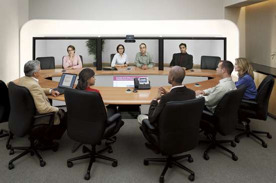 High-Tech Teleconferencing