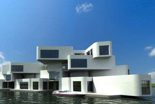 Floating Apartment Complexes