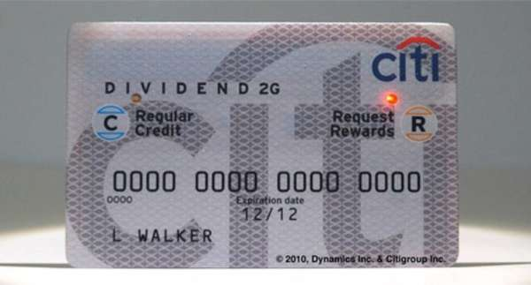 CITI Redemption Card
