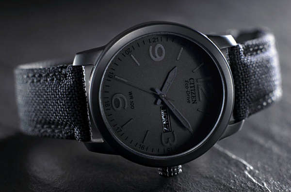 Starkly Monochromatic Timepieces