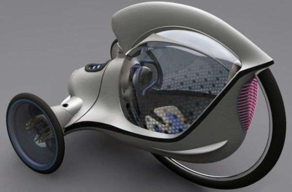 Futuristic Tricycle Concepts