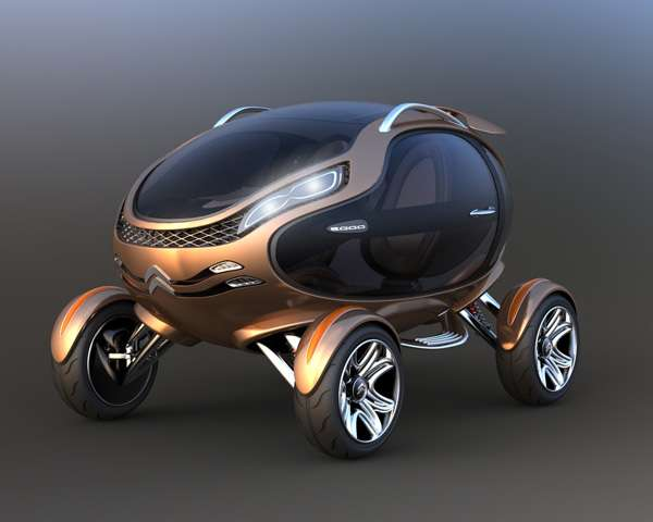 Glass Egg Concept Cars