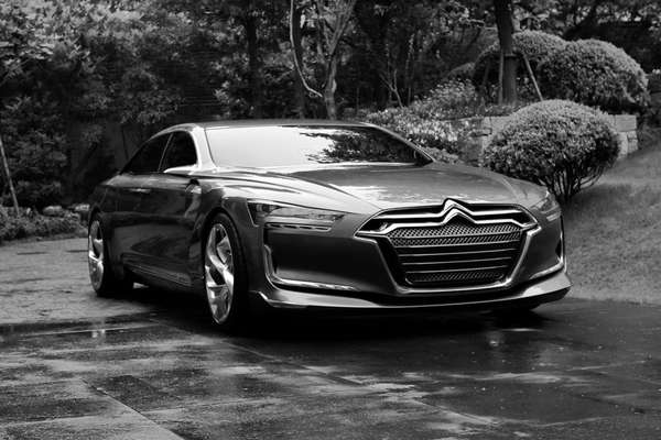 Lean Green Luxury Sedans Citroen Metropolis Concept