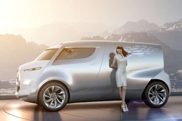 Space Age Concept Vans