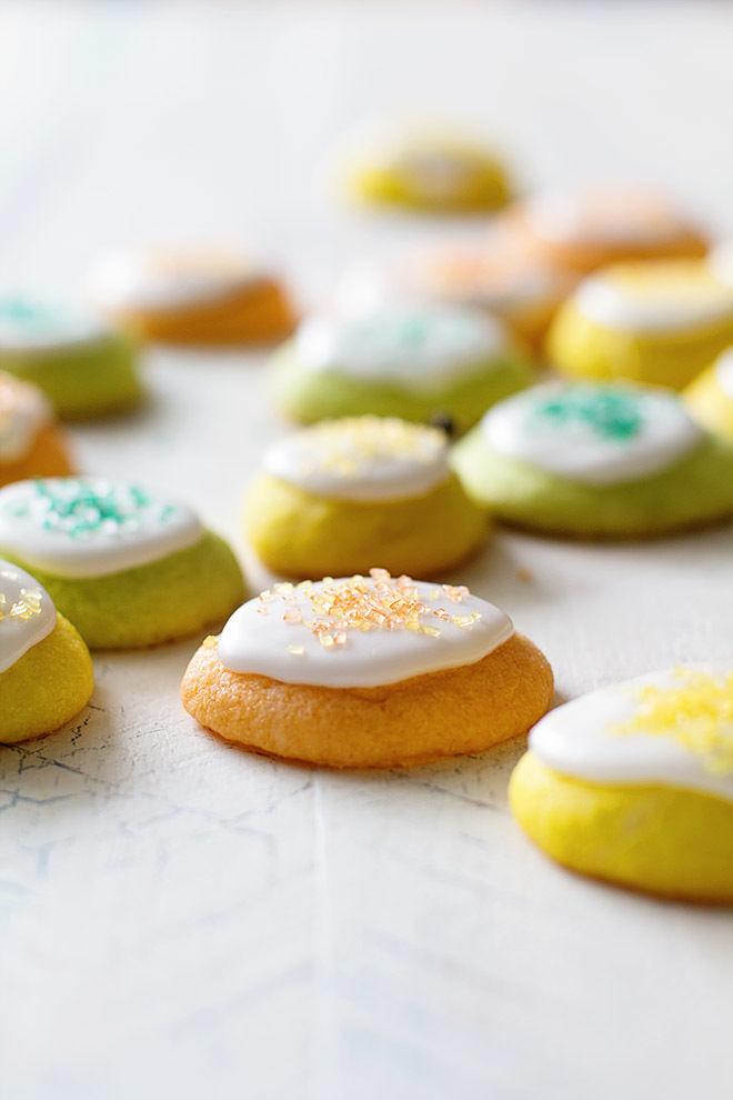 Colorful Citrus Cookies