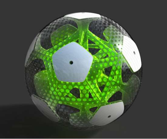 See-Through Soccer Balls