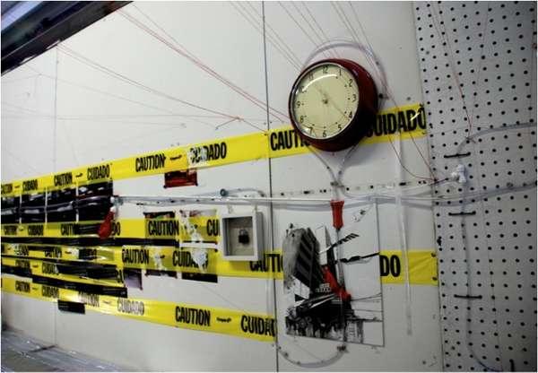 Urban Caution Tape Art