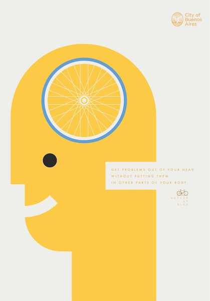 Bodily Benefit Cycling Ads