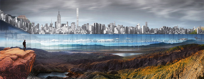 Mirrored City Park Concepts