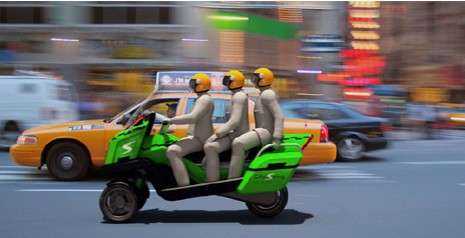 Hybrid Motorbike Cab