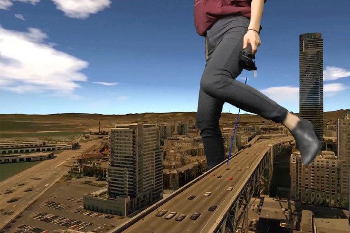 Miniature VR Cities