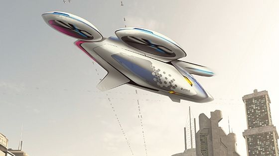 Flying Taxi Concepts