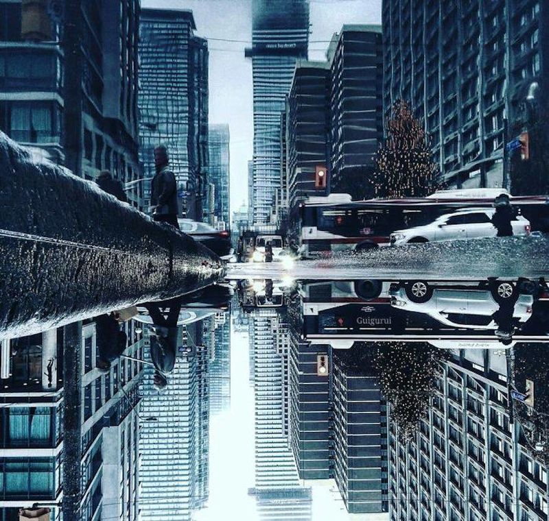Reflective Cityscape Photography