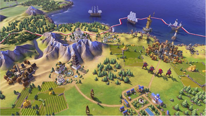 Educational Empire-Building Games