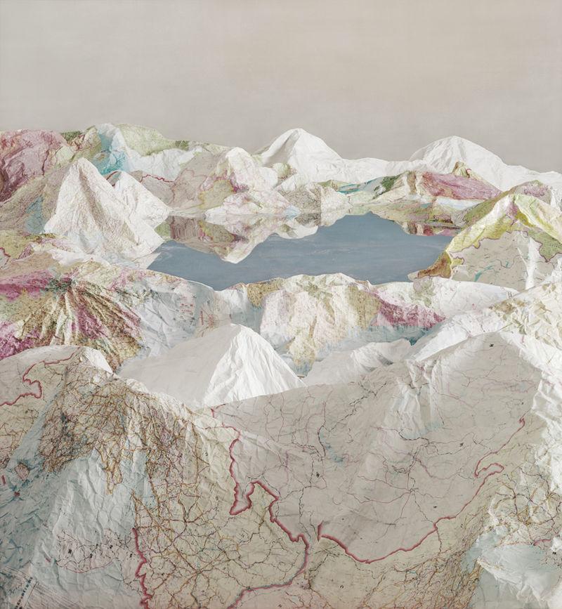 Paper Map Artworks