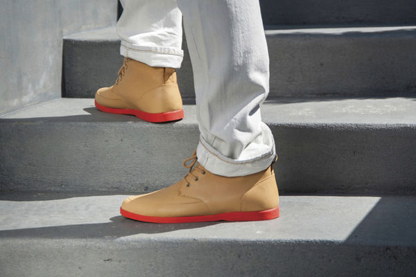Punchy Urban Footwear