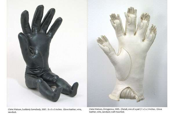 Bizarre Glove Art