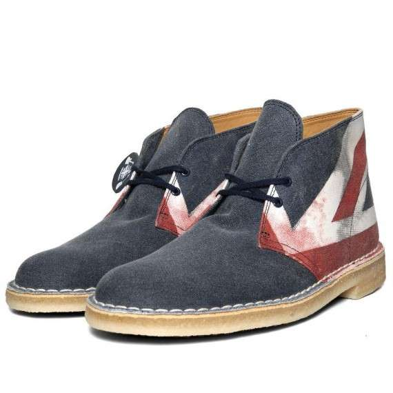 Clarks Originals Desert Boot Punk Edition