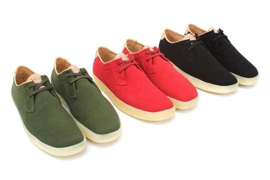 Minimalist One-Tone Footwear