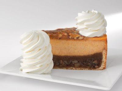 Nutty Pumpkin Cheesecakes