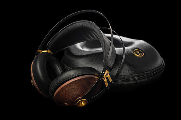 Elegant Wooden Headphones