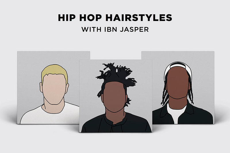 Rapper Hairstyle Illustrations