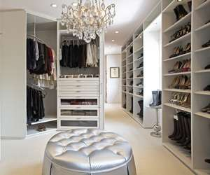 Luxury Walk-In Wardrobes