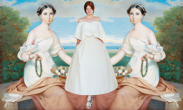 Classical Art Fashion Comparisions