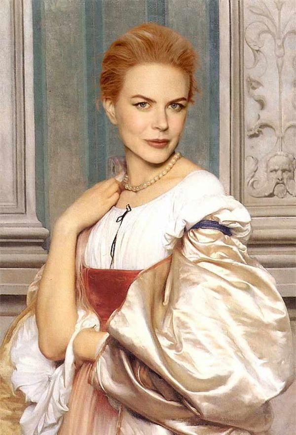 Celebrity-Infused Classical Paintings