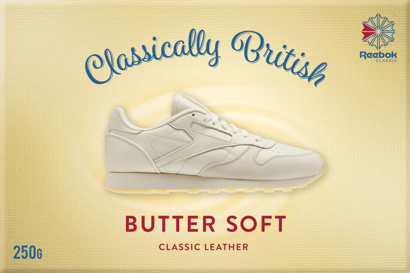 Butter-Inspired Sneaker Ads