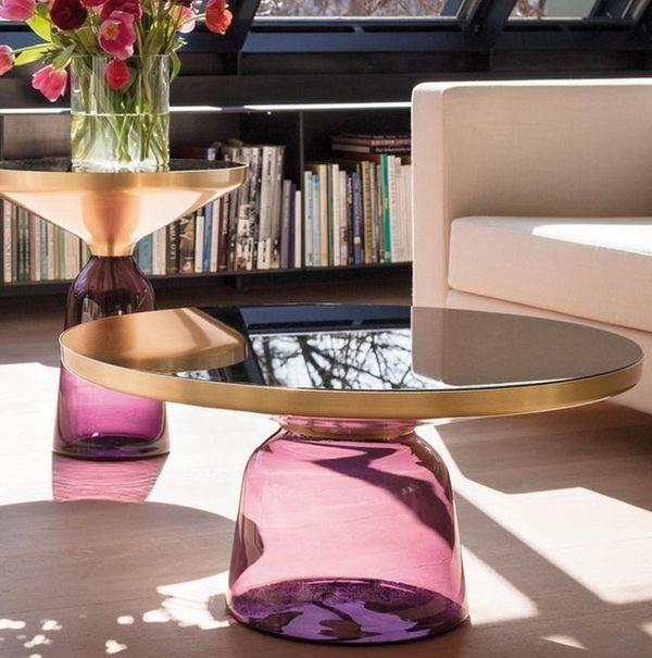 Luxury Translucent Coffee Tables
