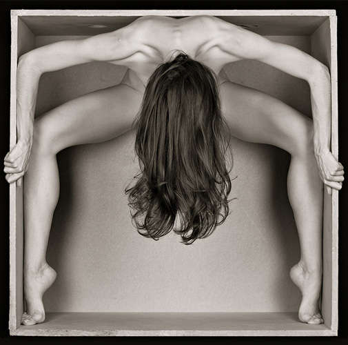 Typographic Nude Photography