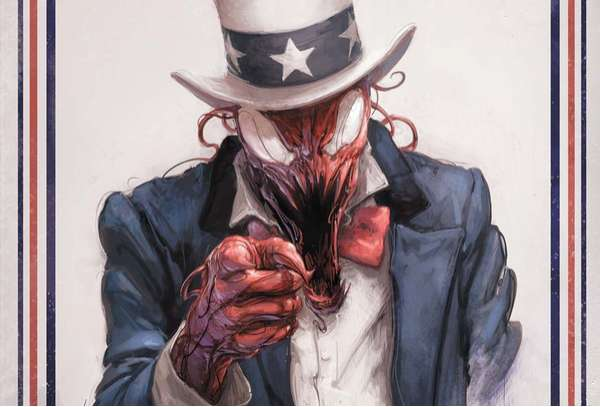 Patriotic Comic Book Ghouls