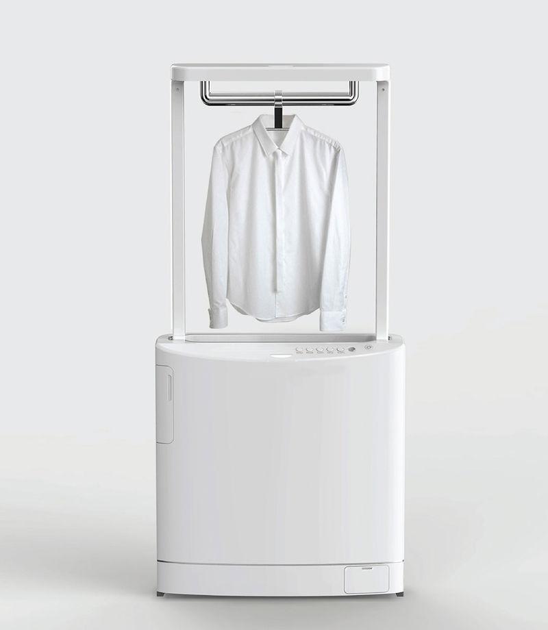 clean laundry machine