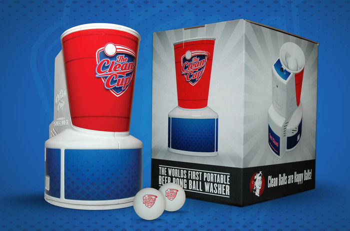Beer Pong Ball Washers