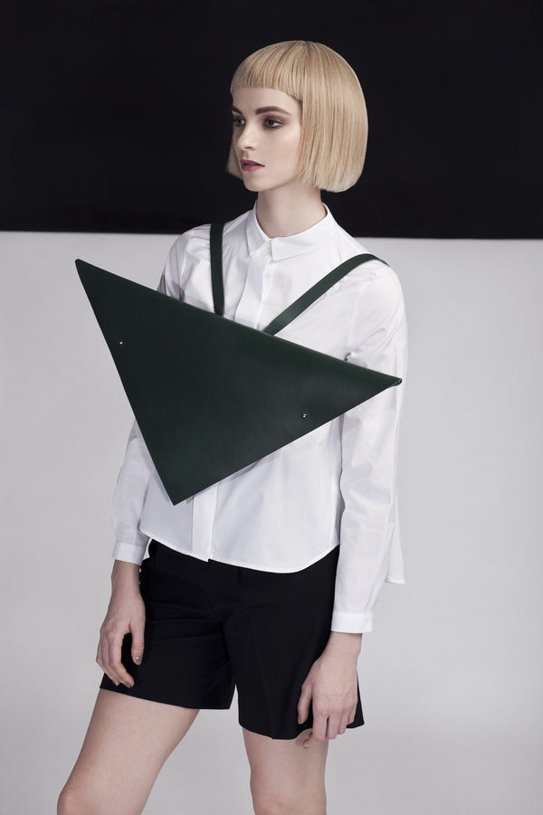 Triangular Post-Modern Purses
