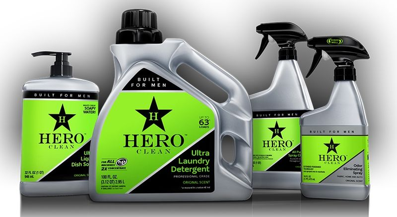 Masculine Cleaning Products