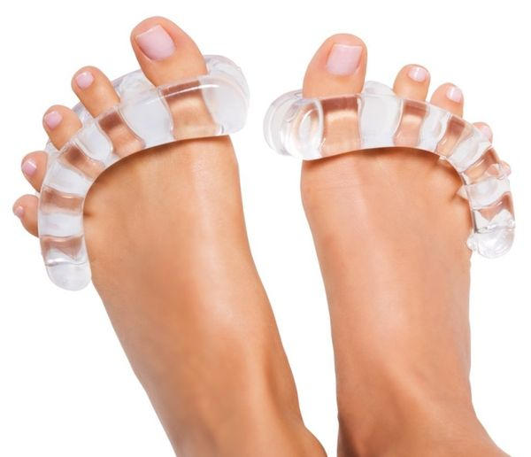 Transparent Toe Stretchers