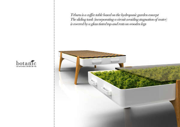 Foliage-Encouraging Furniture