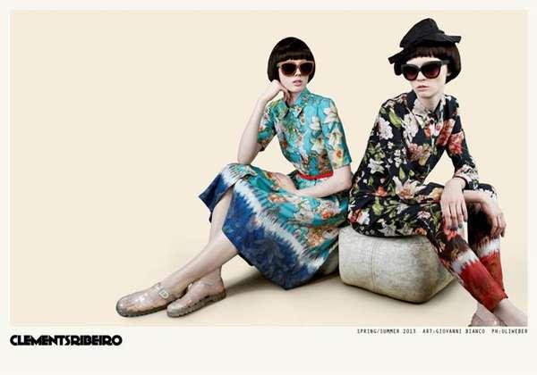 Stylishly Stoic Fashion Ads