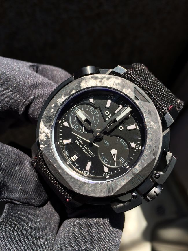Carbon Fiber Dive Watches